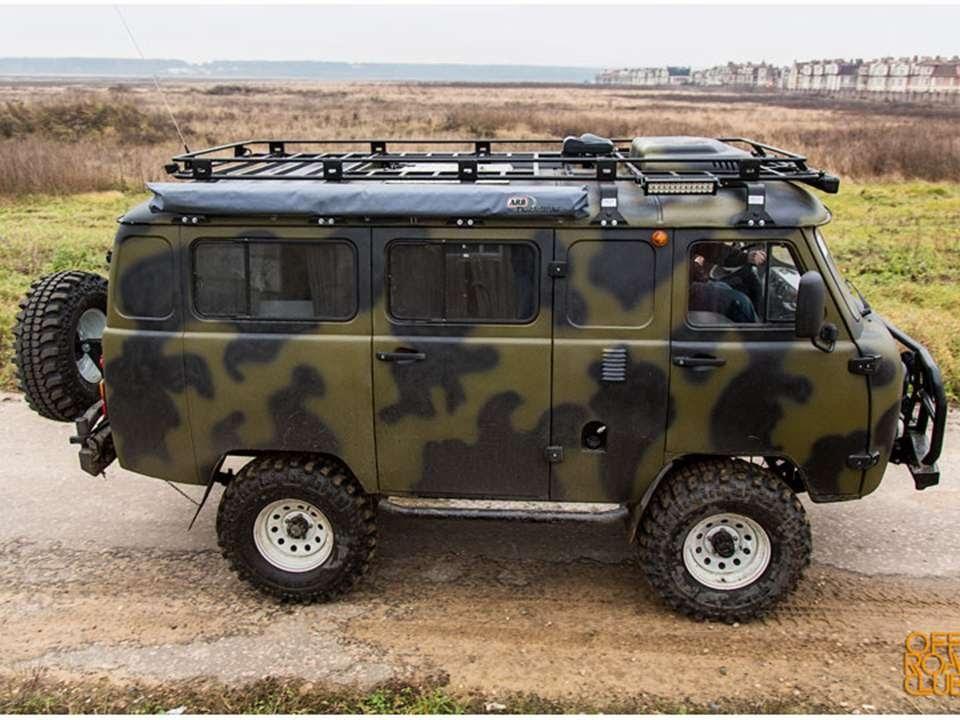 Авто для охоты и рыбалки фото