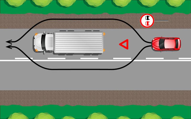 Ответ инспектору ГИБДД, который штрафует за объезд препятствия по встречной или обочине