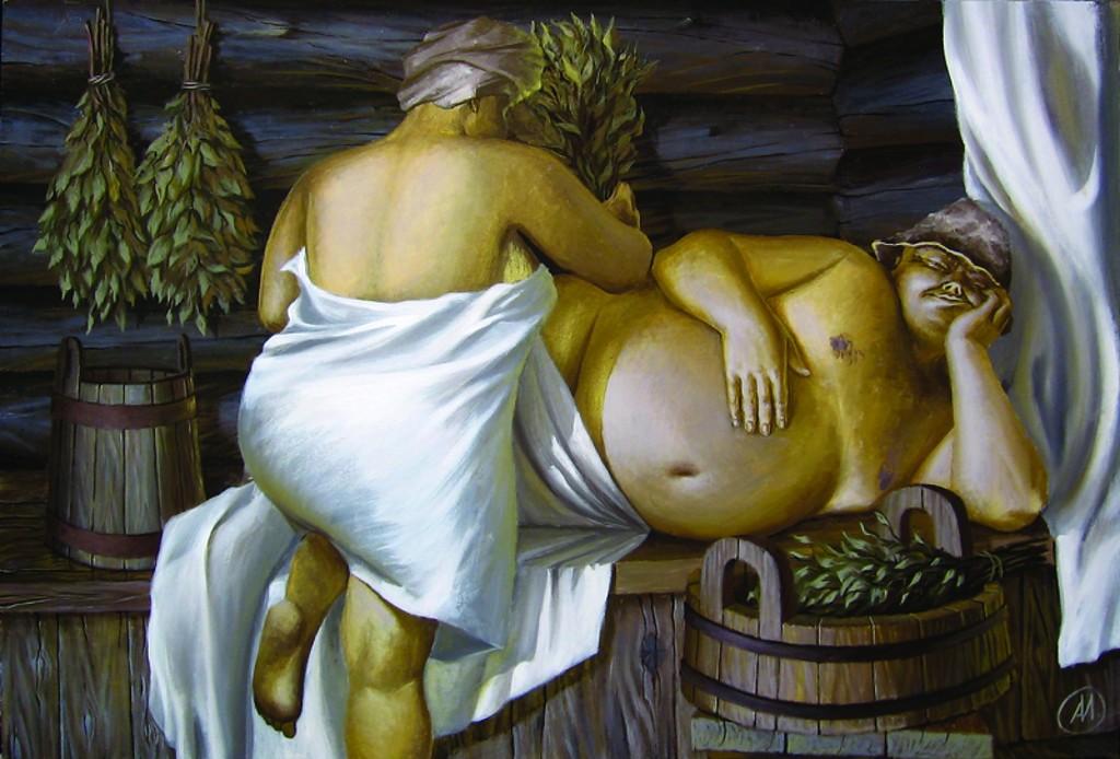 Толстомясые ублажают мужей