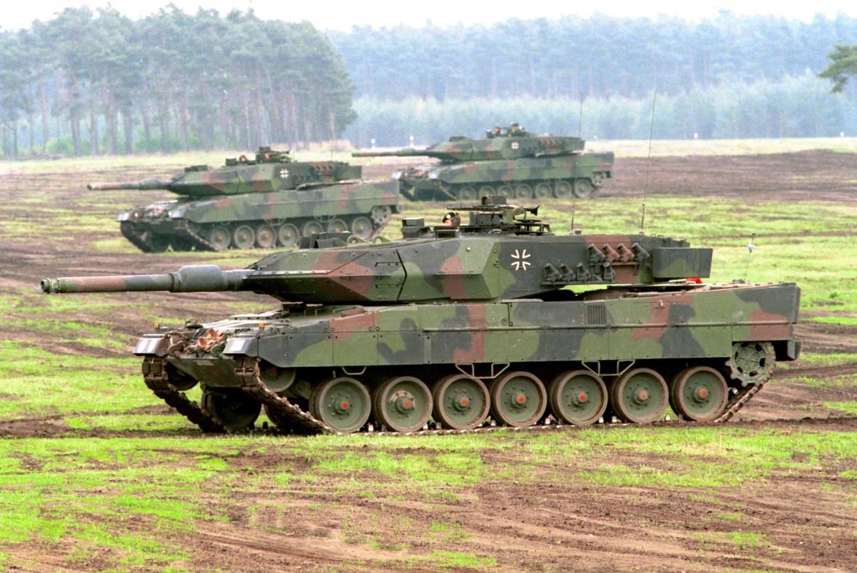 Леопард 2A6M, Германия (Bundeswehr-Fotos)