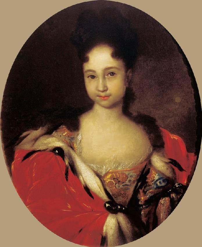История картины — портрет Анны Петровны, дочери Петра 1 кисти Ивана Никитина