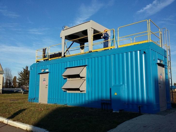 Серийное производство автоматизированных электростанций резервного назначения мощностью 500, 630 кВт