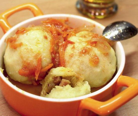 Чешские рецепты - кнедлики картофельные