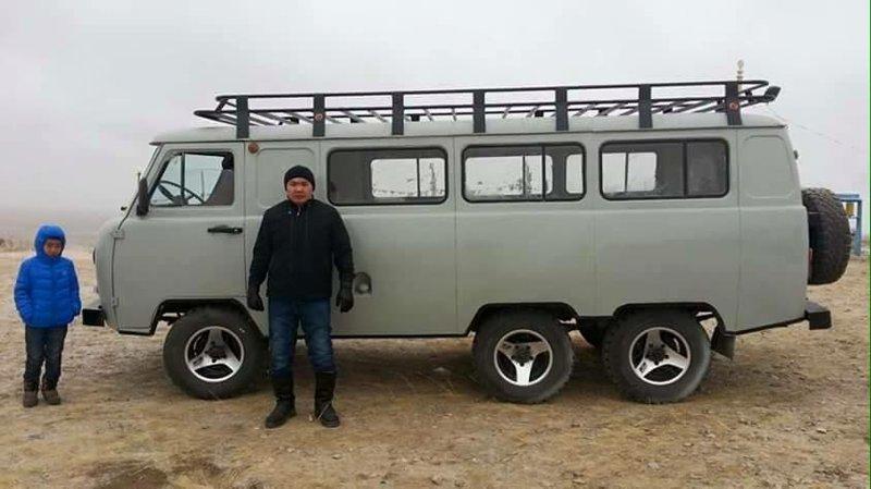 Монгольские УАЗики