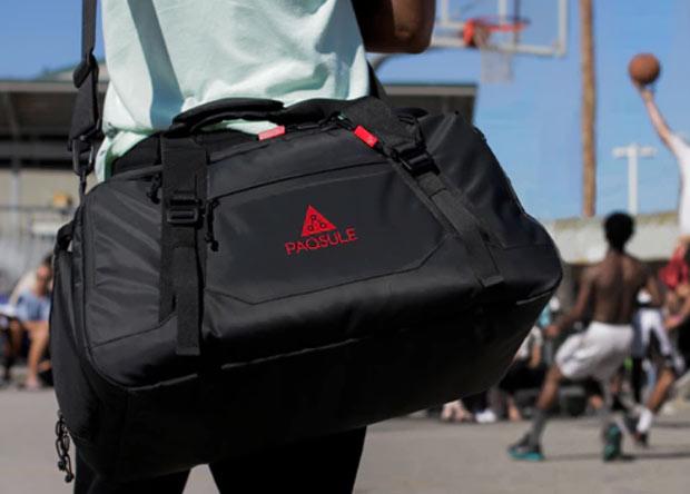 Спортивная сумка продезинфицирует сложенные в нее вещи