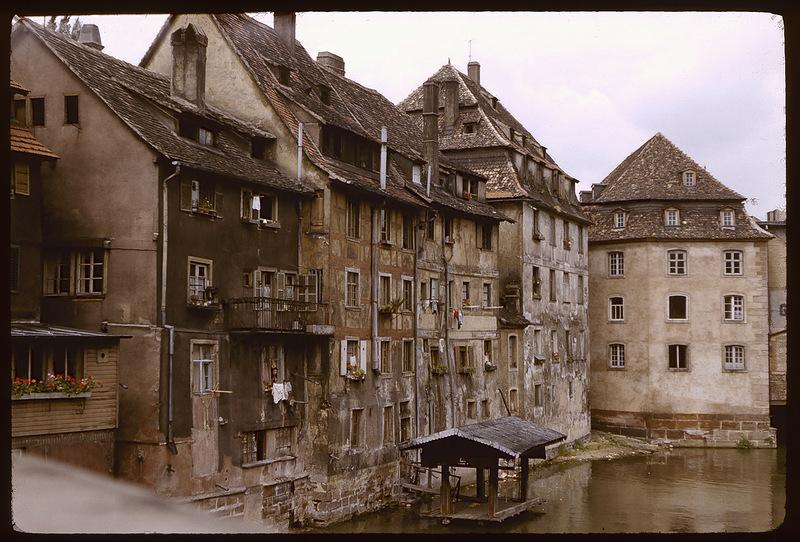 Франция 50-х нацветных слайдах: Романтическое путешествие гид,история,путешествия,туризм