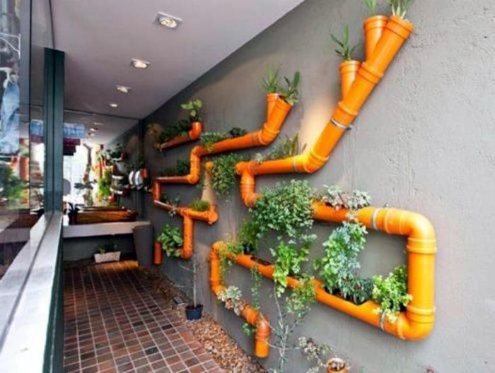Креативная подвесная клумба. | Фото: Humor.fm.