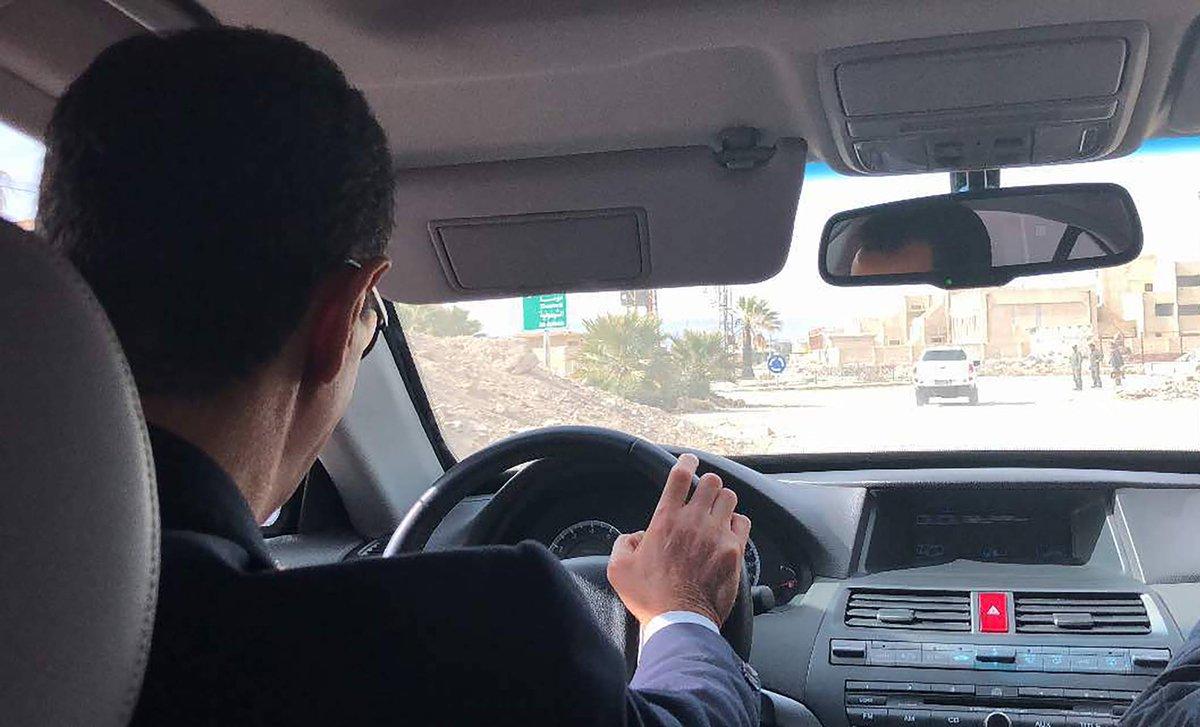 Асад едет в Гуту
