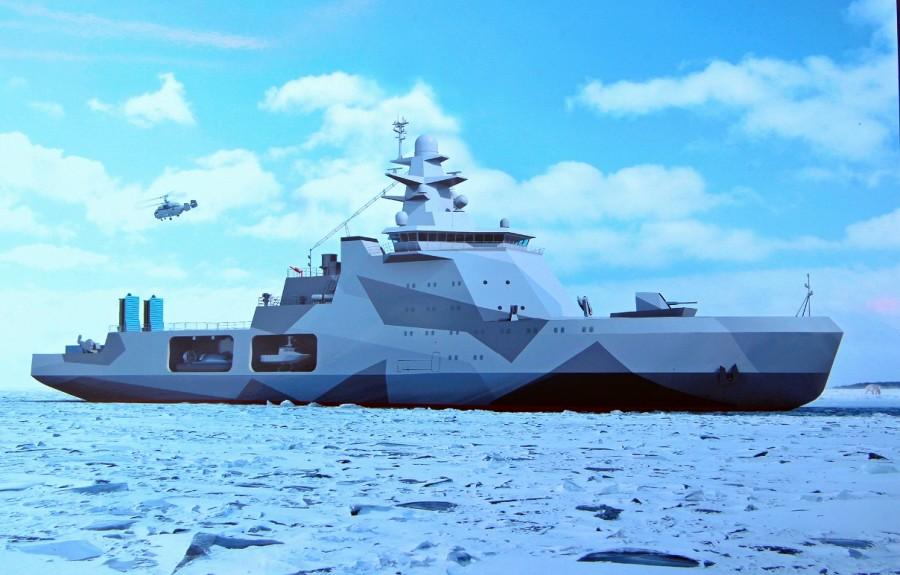 Сдача ВМФ России патрульных кораблей ледового класса проекта 23550 отложена до 2023-2024 годов