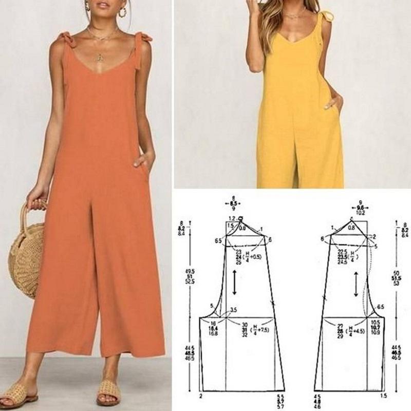 Подборка летних платьев с выкройками