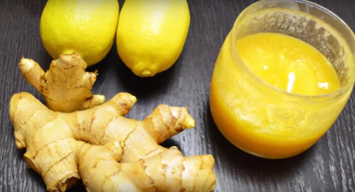 Повышаем иммунитет - витаминно-имбирная смесь