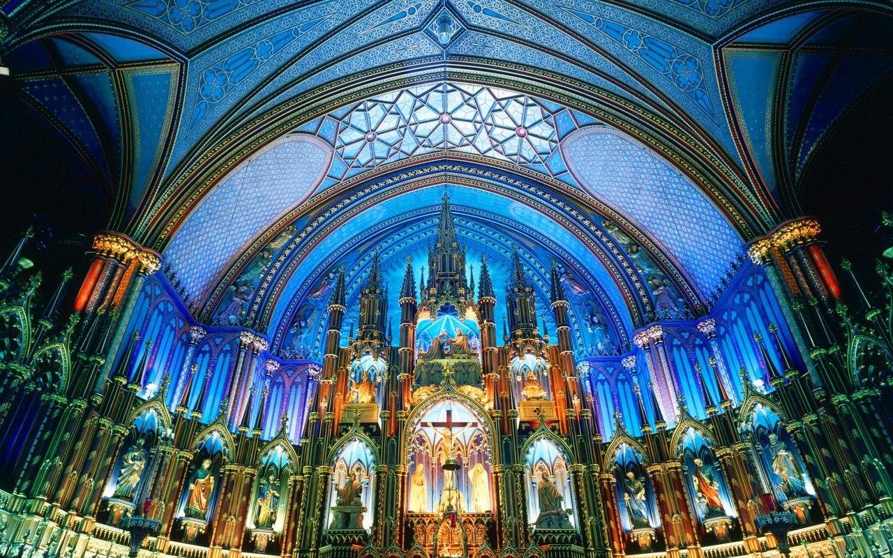 Базилика Нотр-Дам - жемчужина Монреаля