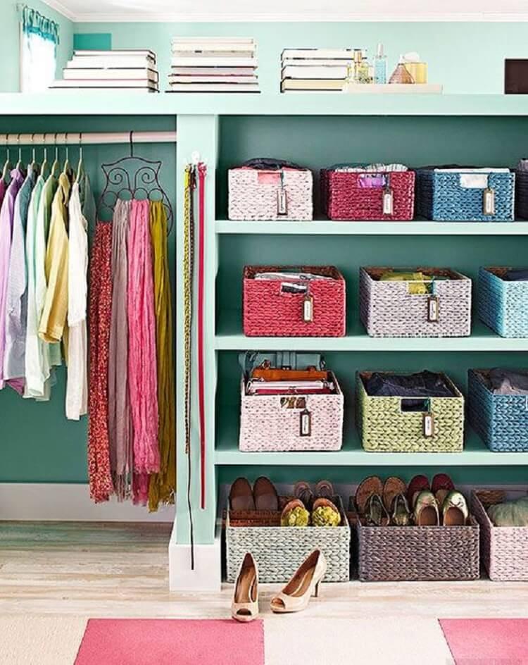 Идеальный порядок в шкафу фото