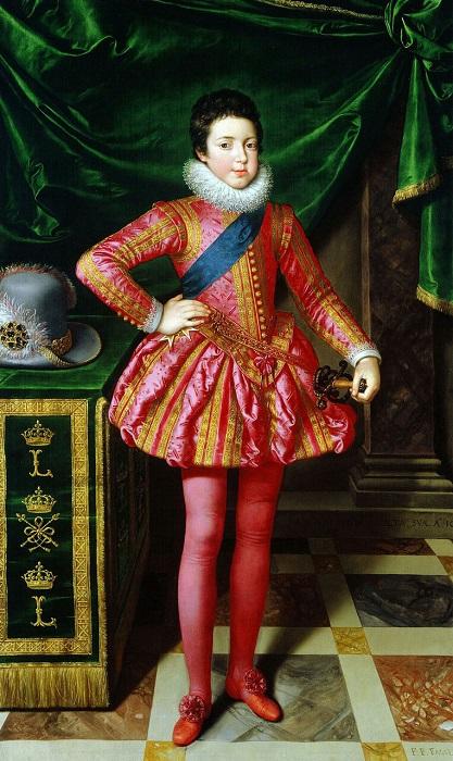 Людовик XIII в детстве. Художник Франс Пурбю-младший.