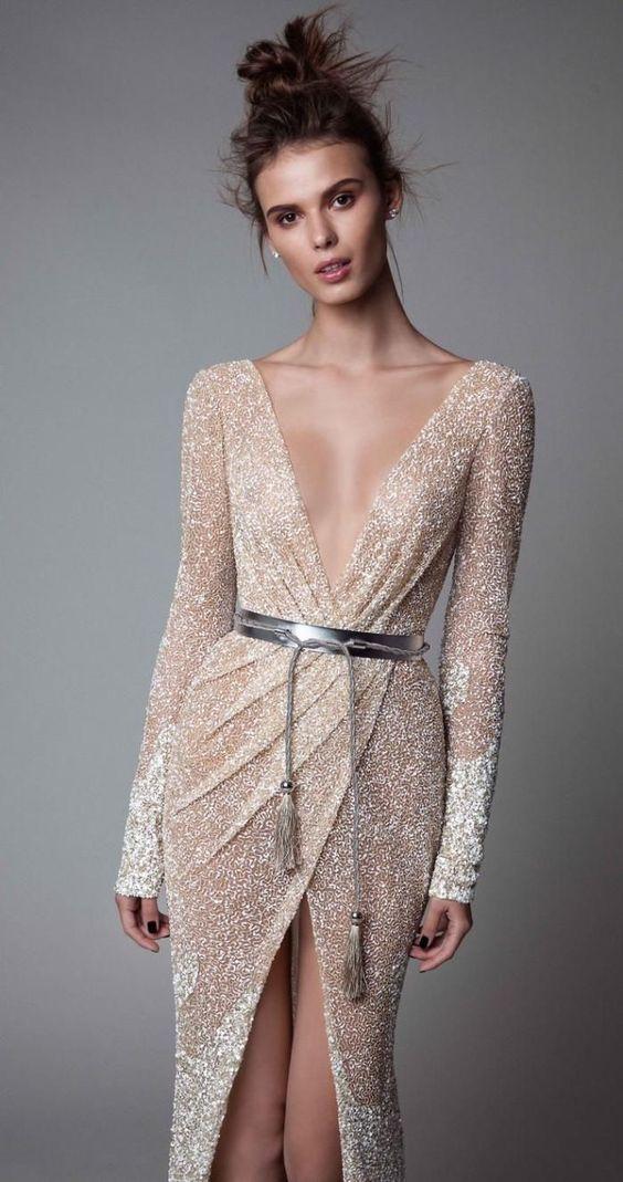 красивое платье на новый год 2019