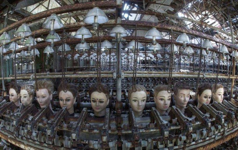 7. Кукольная фабрика, Испания бомбоубежище, заброшки, индастриал, интересно, фото