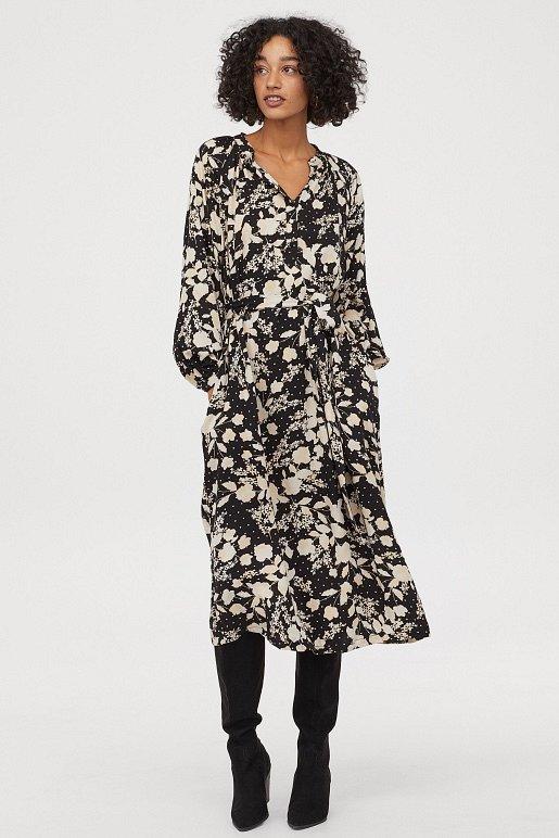 Платья с цветочным принтом - наш ответ серым осенним будням фото №15
