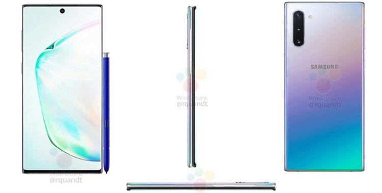 Samsung Galaxy Note 10 5G получит до 12 Гбайт оперативки и накопитель до 1 Тбайт
