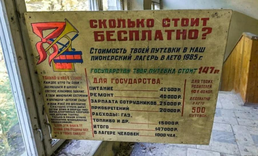 Сколько стоило «бесплатно» в Советском Союзе?