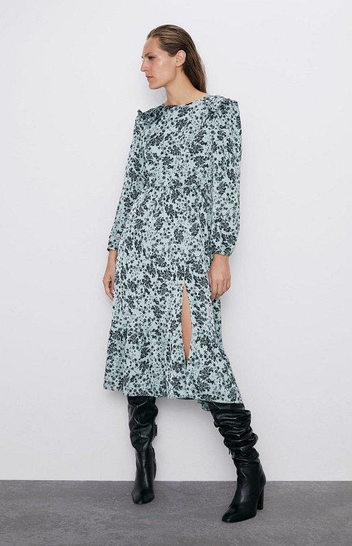 Платья с цветочным принтом - наш ответ серым осенним будням фото №13