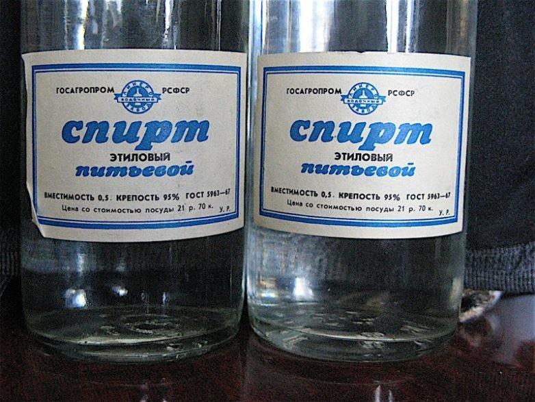Купить спирт питьевой в россии водка на альфе спирте купить
