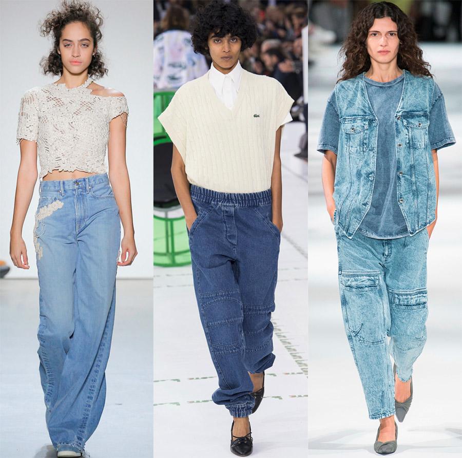 Стильная джинсовая одежда в 2018-м