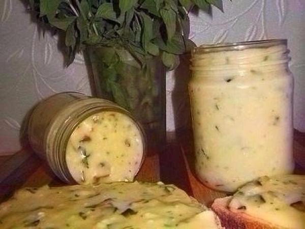 Домашний плавленый сыр с шам…