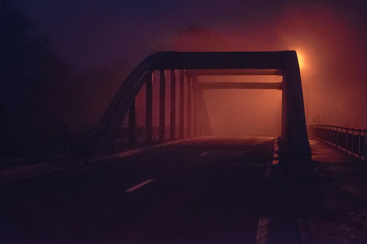 Непередаваемое очарование пустынных улиц в фотопроекте Пьера Путмана без людей,ночь,улицы