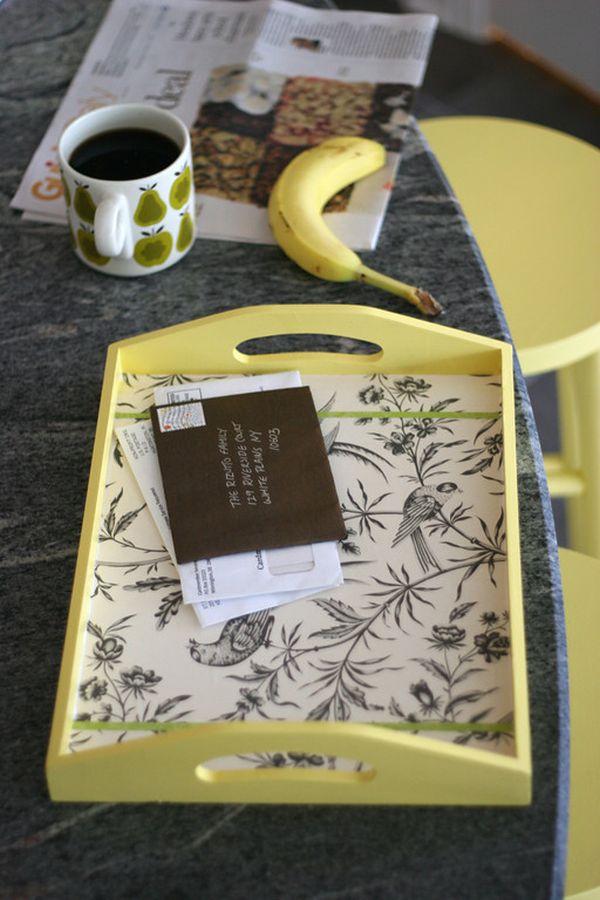 4 идеи для подносов своими руками декор,для дома и дачи