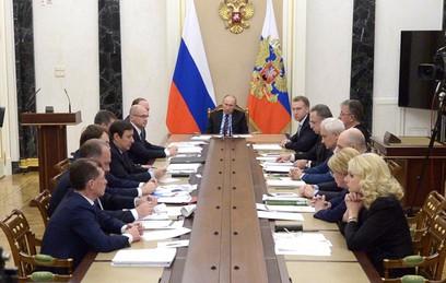 Путин поручил снизить коммерческую задолженность регионов