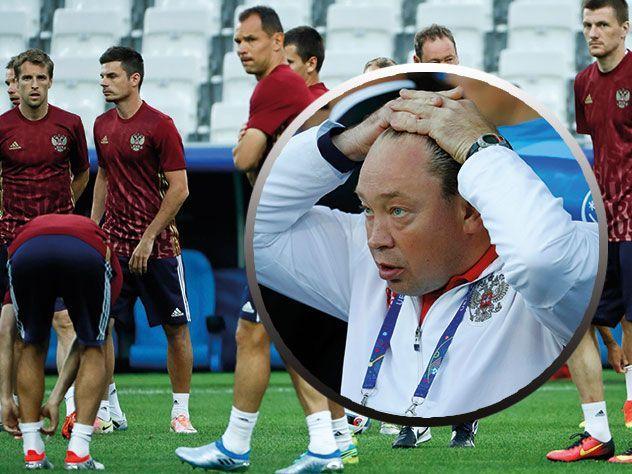 Слуцкий: о провале нашей сборной на «Евро-2016»