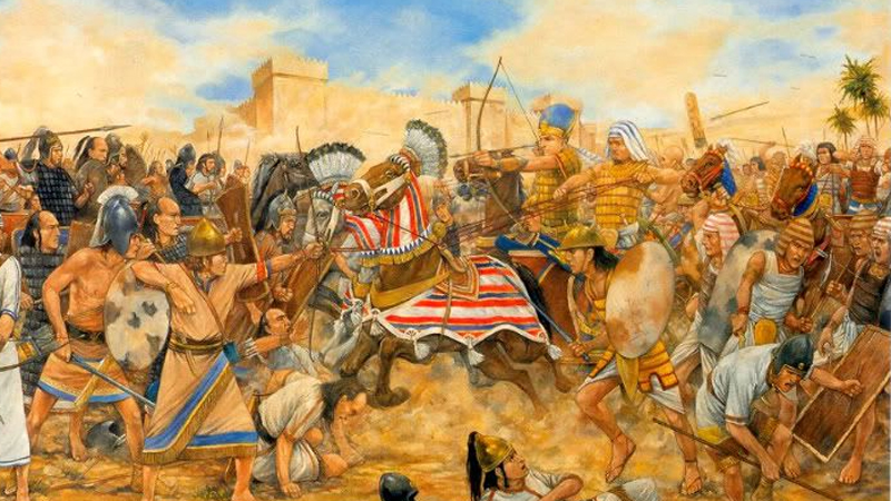 the military in new kingdom egypt New kingdom: although during the new kingdom, egypt was very receptive to cults from the memphis became a principal administrative and military centre.