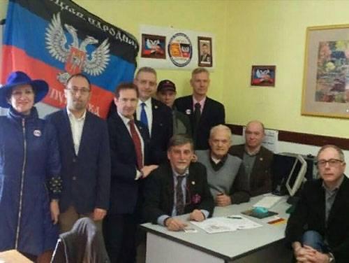 Украина отреагировала на открытие представительства ДНР в Италии