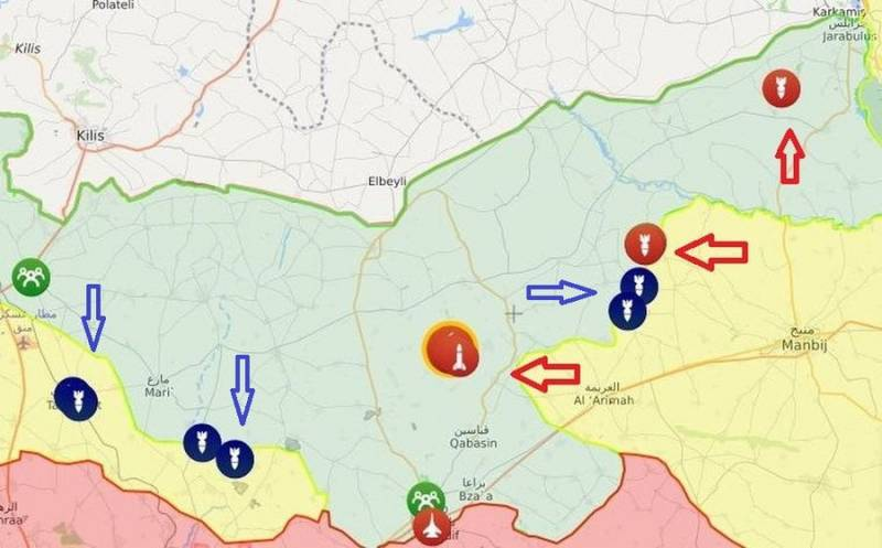 Неизвестные силы уничтожили нефтезаводы в провинции Алеппо возле, города, также, ударах, одновременно, которые, свозится, Джараблус, топлива, сгорели, рынок, ударам, подвергся, Также, десятки, переработки, нефть, украденная, обстреливают, должны