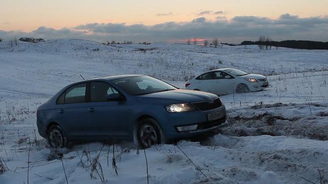 Городские авто в снегу. Кто лучше?