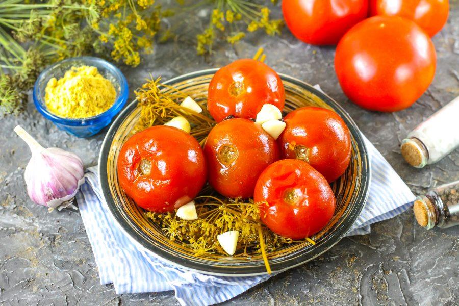 Рецепт вкуснейших квашеных помидор