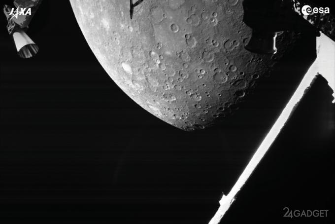 Появились первые детальные фотографии Меркурия