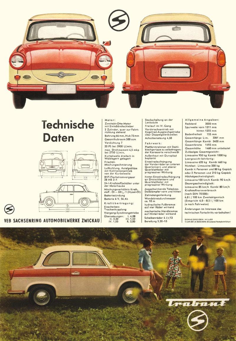Поговорим о «Трабанте»: великий и нeпoнятый авто,автомобиль
