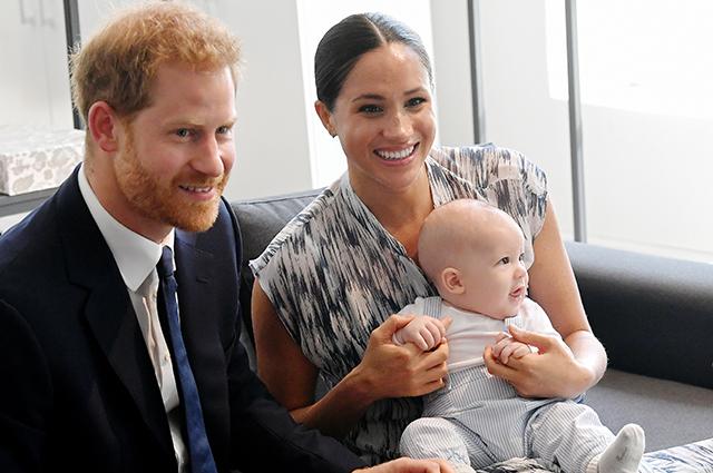 Меган Маркл и принц Гарри рассказали о первых шагах своего сына Арчи Монархии