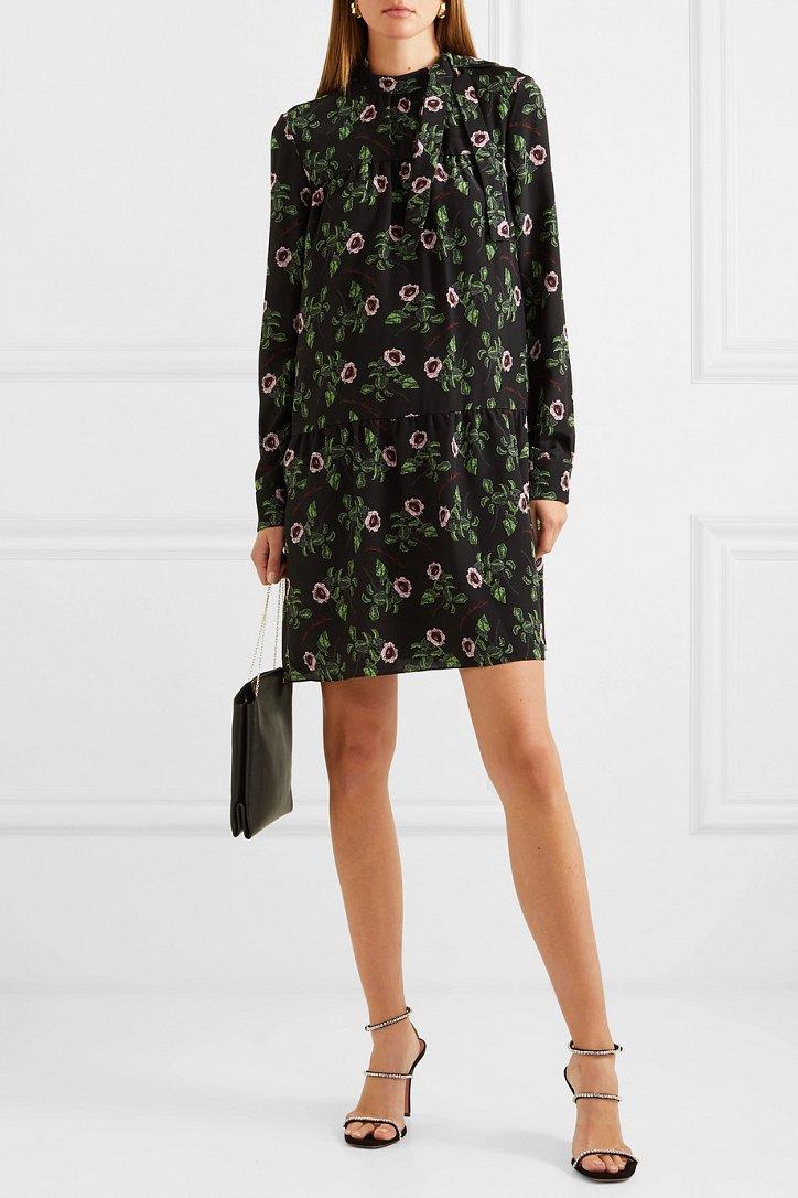 Платья с цветочным принтом - наш ответ серым осенним будням фото №10