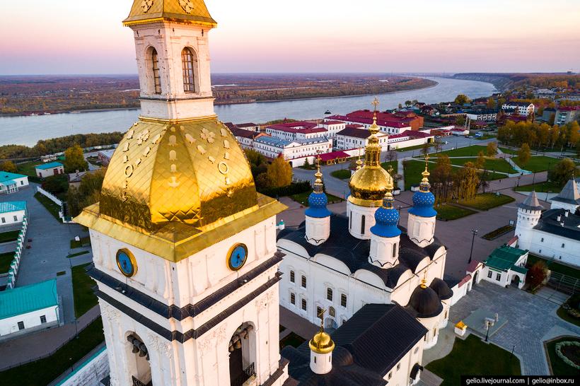 Тобольск с высоты: бывшая столица Сибири