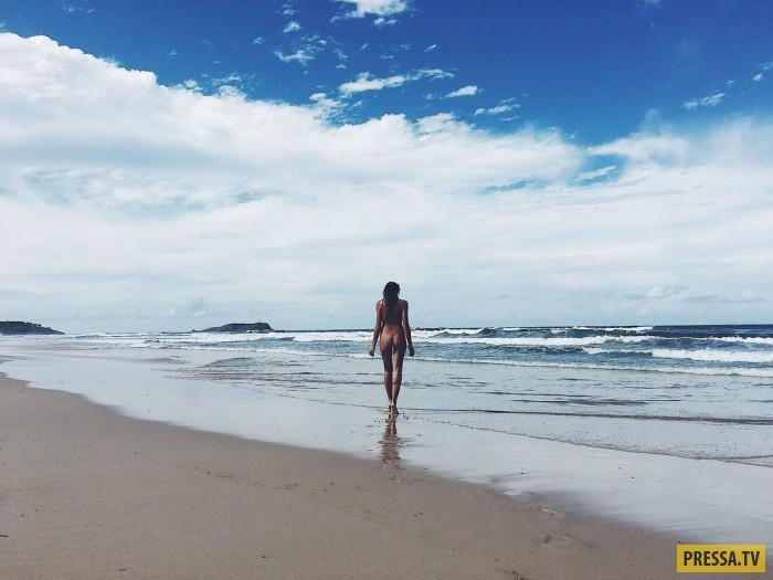 Единение с природой: девушка, которая стала первым ню-блогером в мире