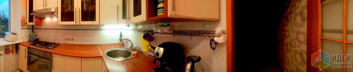 Хрущевка-двушка площадью 43 м2: кухня