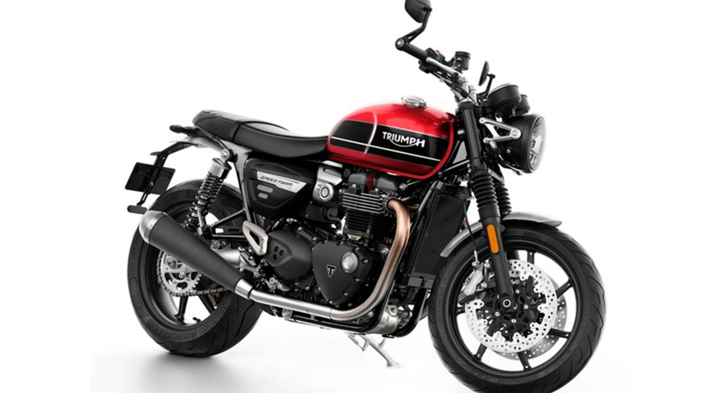 Модель мотоцикла Speed Twin марки Triumph получила новый двигатель, подвеску и тормоза Автомобили