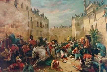 Рабы с Кавказа, которые 300 лет правили Египтом