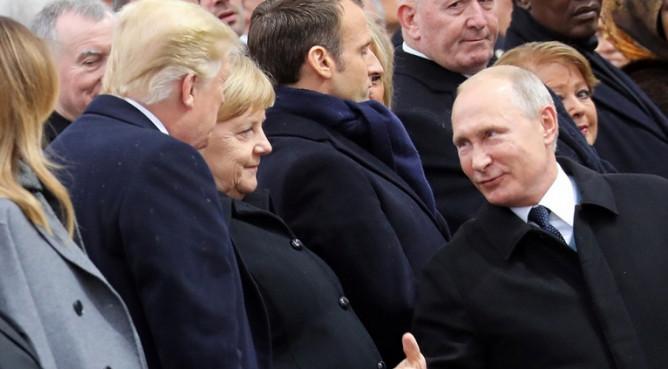 Трамп обсудил Договор о РСМД и санкции с Путиным, Макроном и Меркель