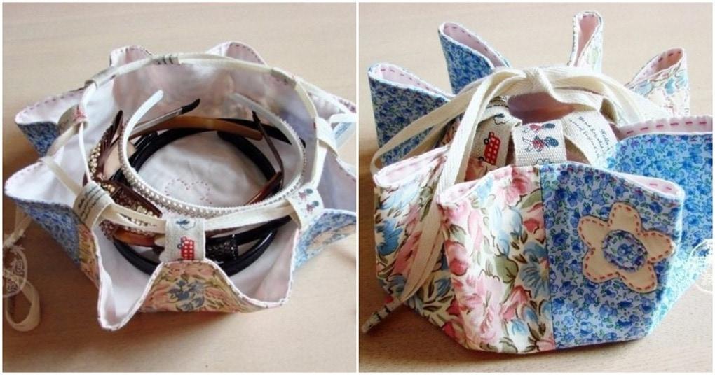 Двусторонняя сумка-мешок — оригинальный аксессуар для тысячи мелочей