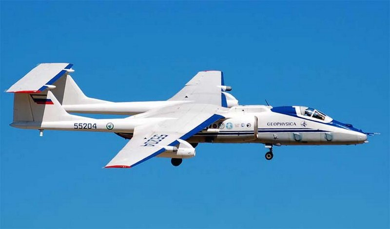 Самолёт М-55 2-3 года не будет принимать участие в международных научных экспедициях