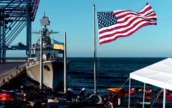 Новая военная база США будет около Крыма новости,события