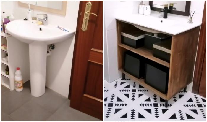 Ремонт в ванной комнате своими руками: бюджетный вариант от молодой хозяйки